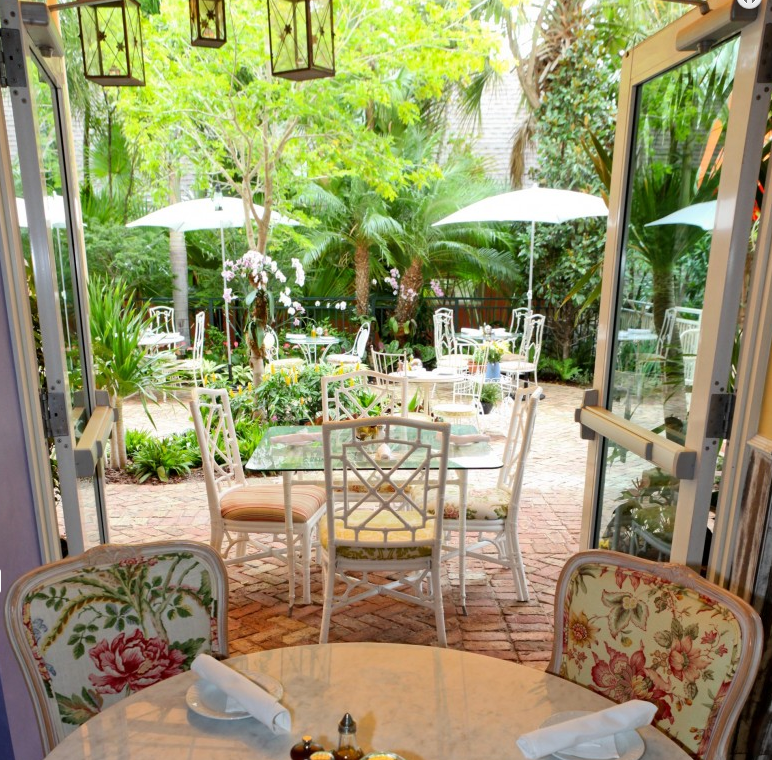Menu De Peacock Garden Cafe