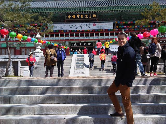 Sudok-Sa Monastery - Cheesy Smile