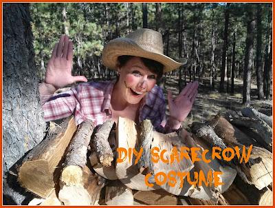 DIY Scarecrow Costume, Scarecrow, Halloween Costume,