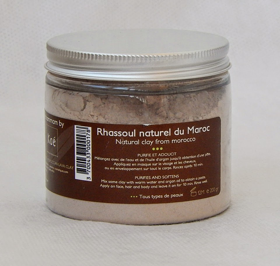 марокканская глина Moroccan Natural White Clay Rhassoul от Kae (Kaeline)