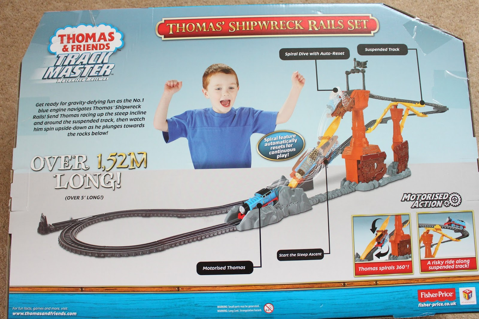 Thomas Friends Trackmaster Shipwreck Rails Review The Witt Family