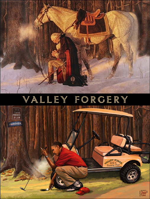 valley forge battle