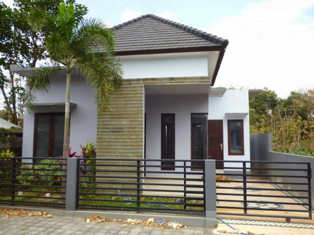 contoh pagar rumah minimalis sejajar