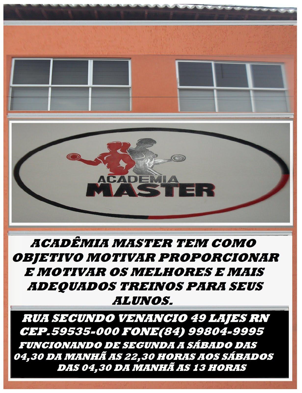 ACADÊMIA MASTER A MAIS COMPLETA DE LAJES