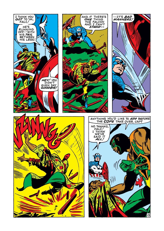 Captain America (1968) Issue #134 #48 - English 19