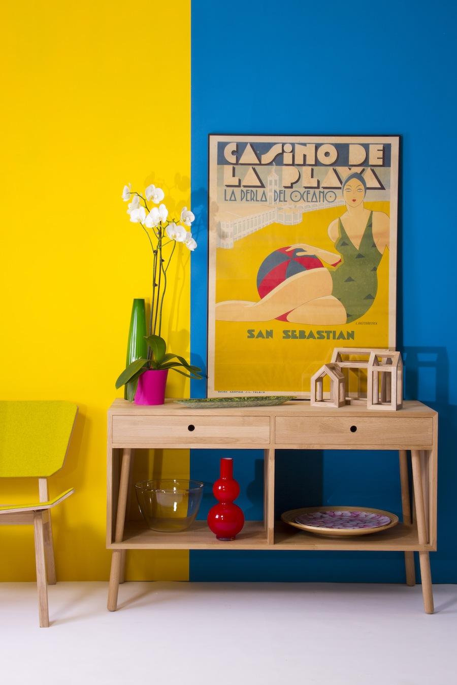 die wohngalerie knallige sommer kombination la san. Black Bedroom Furniture Sets. Home Design Ideas