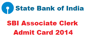 Download Call Letters Admit Card for SBI Associate Banks Clerks 2015