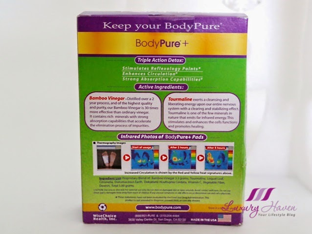 singapore lifestyle blogger reviews bodypure plus detox pads