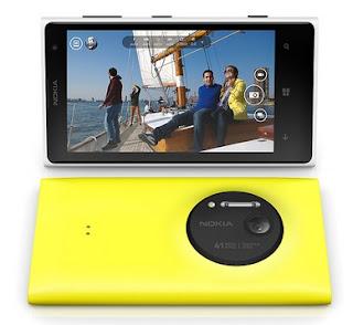 nokia lumia 1020 ponsel kamera