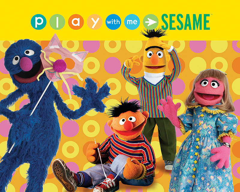 Play With Me Sesame Cartoon Television Series