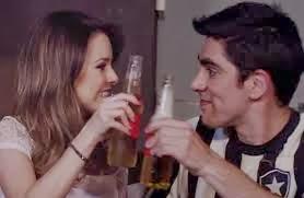 Sandy e Marcelo Adnet