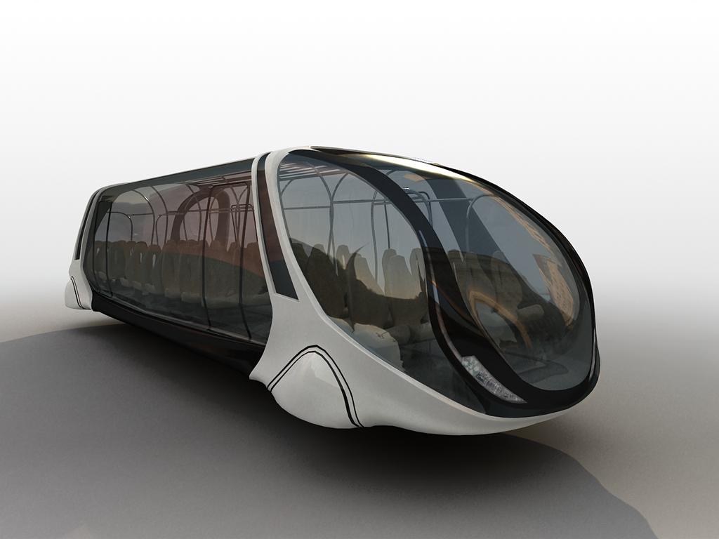02 jpg Futuristic Bus