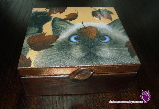 skrzynka z kotem