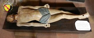 RAMBERVILLERS (88) - L'église Sainte Libaire - Mise au tombeau : Christ