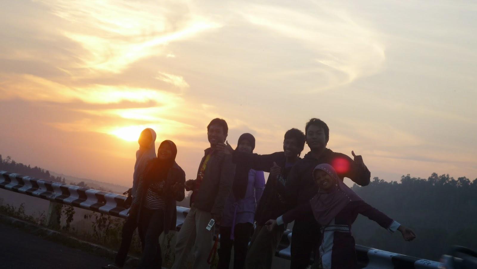 Sunrise disekitaran Waduk Sermo, Kulonprogo