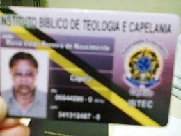 MINHA CARTEIRA DE CAPELÃ!
