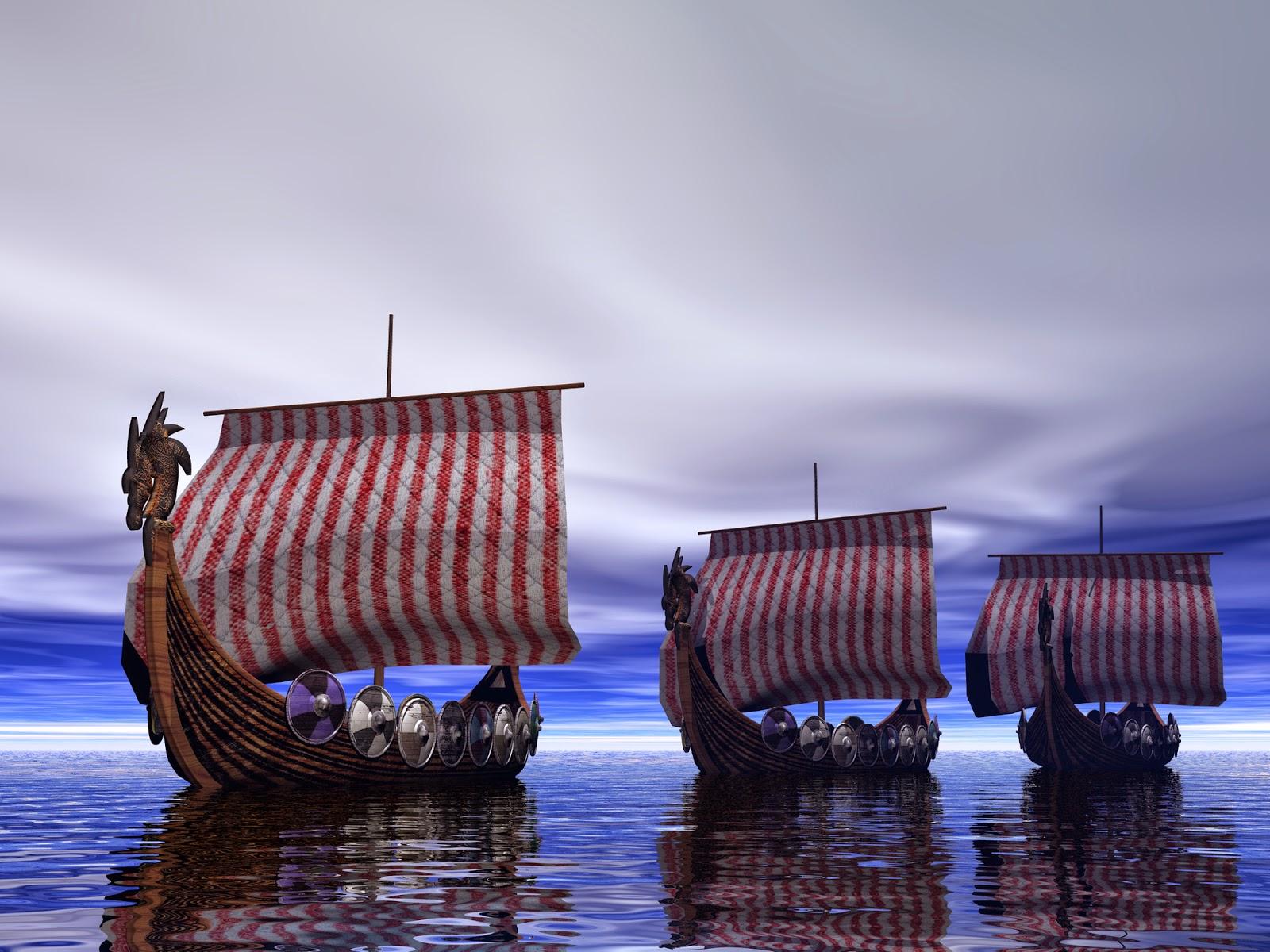 Viking Ships original
