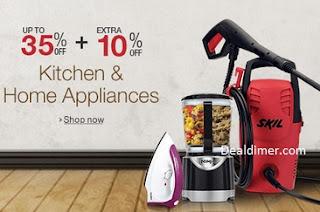 Kitchen & Home Appliances upto 35% off