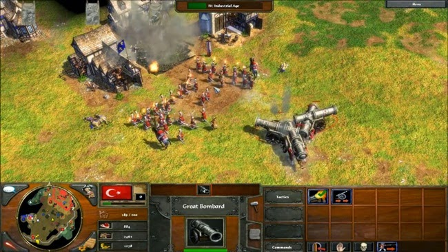 Age Of Empires 3 PC Gameplay