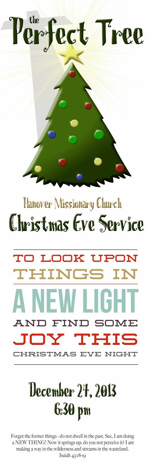 christmas eve – Hanover Missionary Church