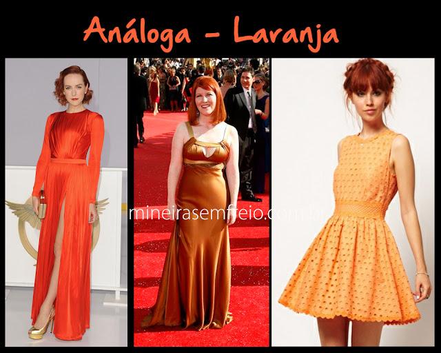 Combinando o cabelo vermelho com roupas laranjas por Mineira sem Freio