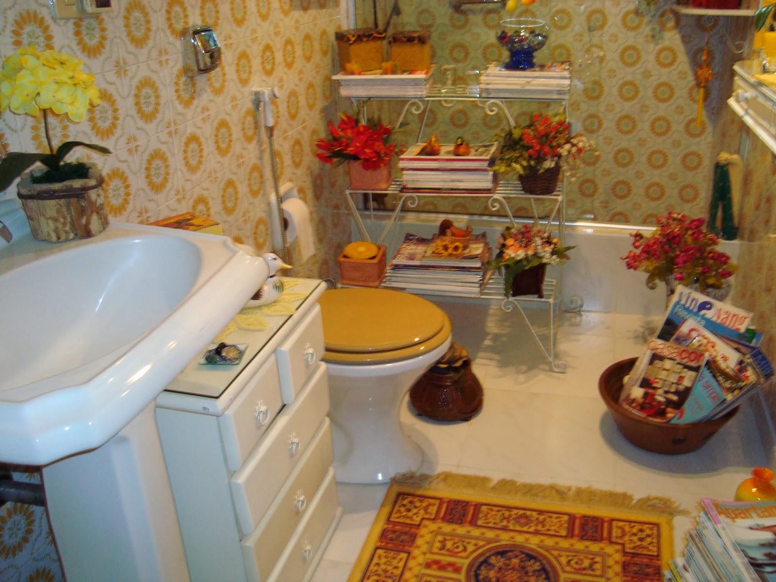 Em casa de Maria Banheiro Repaginado #InDicasdeMaria -> Decoracao Para Banheiro Antigo