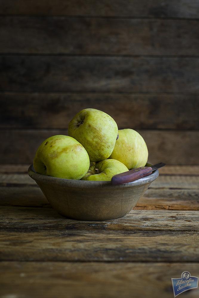 Jabłka w cieście dyniowym