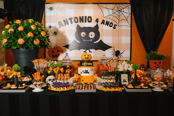 DIY Decoraç u00e3o Ideias para festas de Halloween -> Decoração De Festas De Halloween
