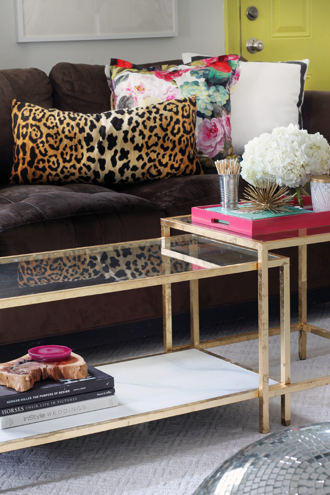hunted interior a little layer of gold gold leaf that is. Black Bedroom Furniture Sets. Home Design Ideas