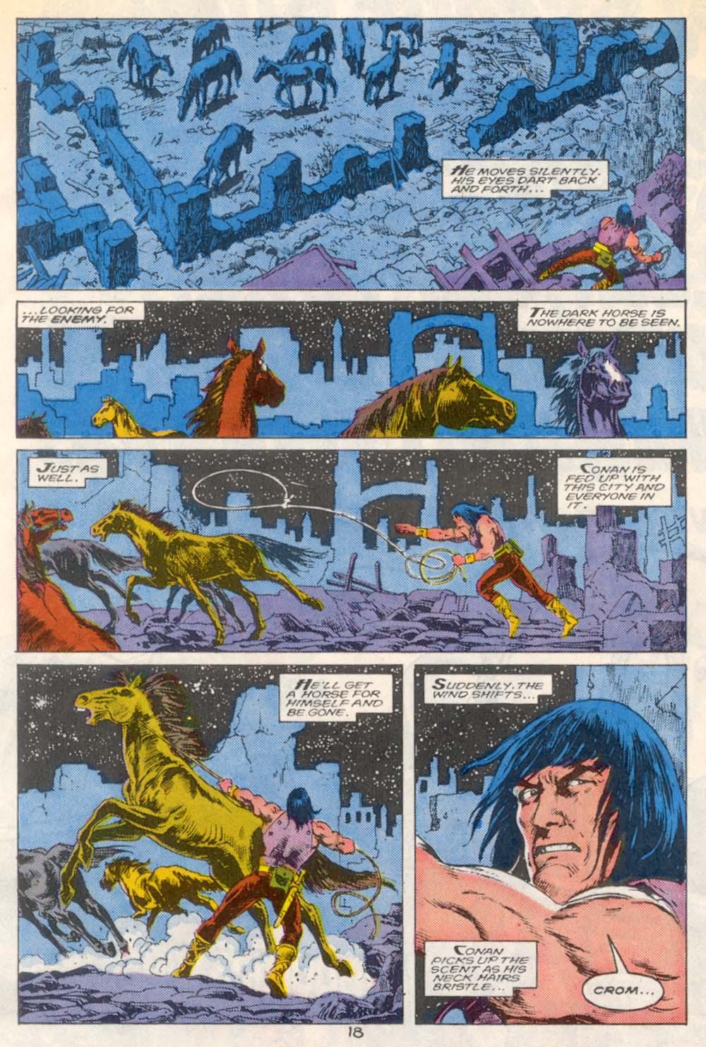 Conan the Barbarian (1970) Issue #209 #221 - English 14