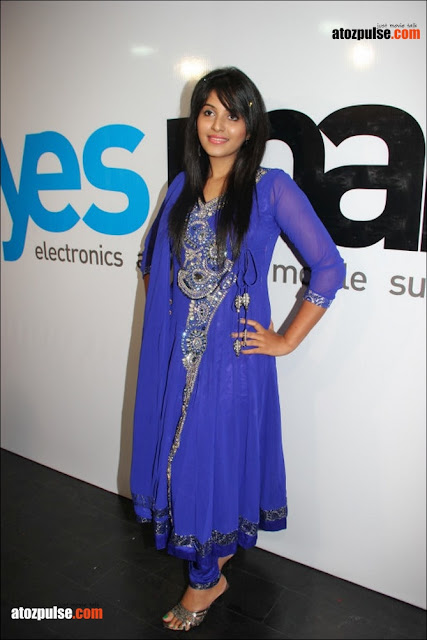 Anjali+in+blue+at+yes+mart+10+  +AtoZpuLse.com Exclusive Anjali latest cute photos   AtoZpuLse