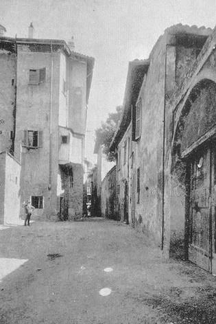 Milanoneisecoli vicolo san fermo da via olmetto a via for Via san fermo milano