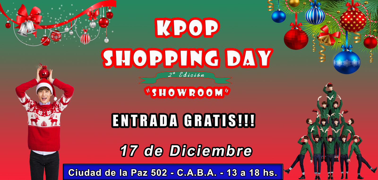 SHOWROOM NAVIDEÑO!!!