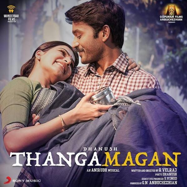 Poster Of Thanga Magan 2015 720p Tamil HDRip Full Movie