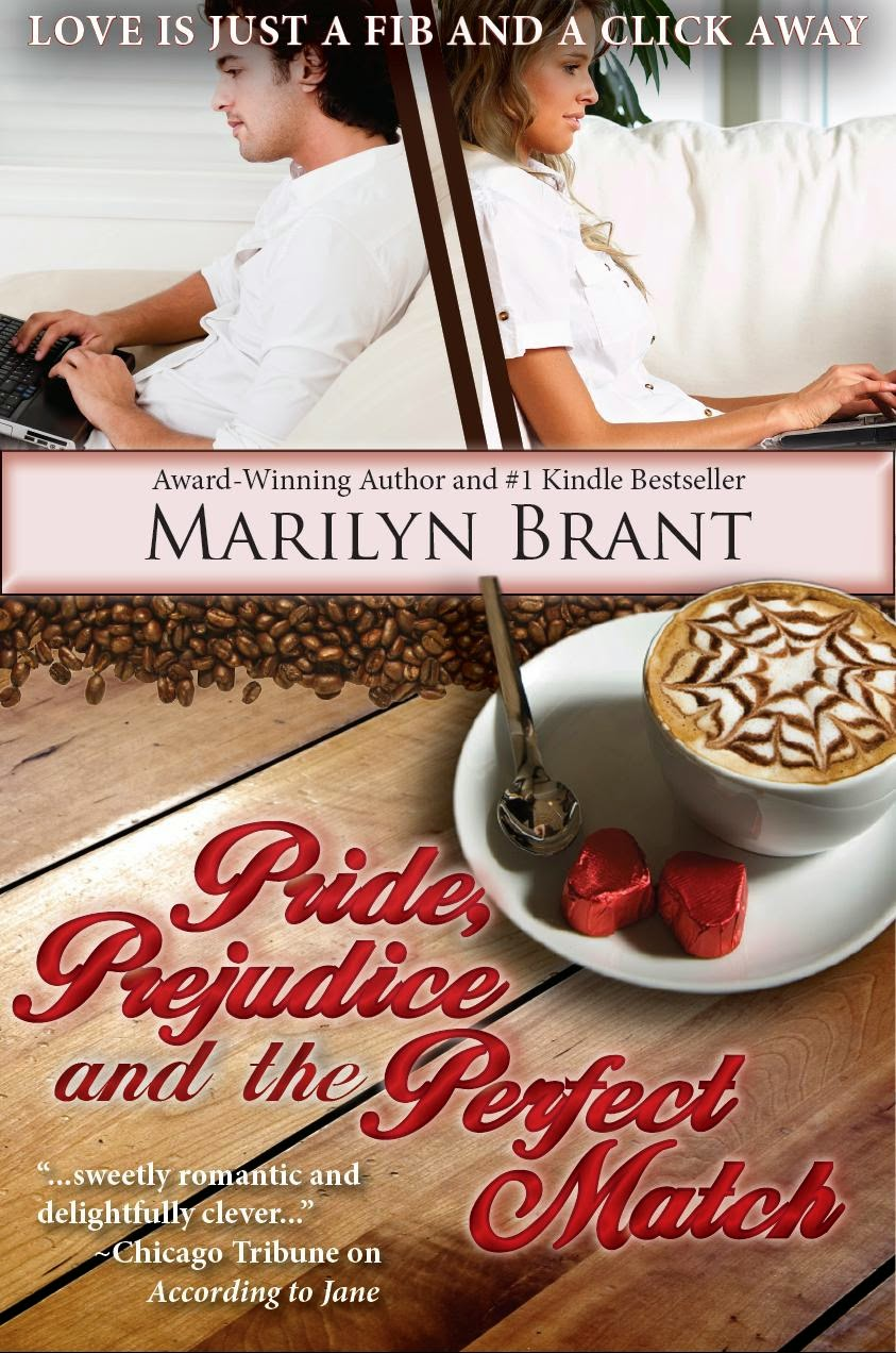 Book cover - Pride, Prejudice and the Perfect Match by Marilyn Brant