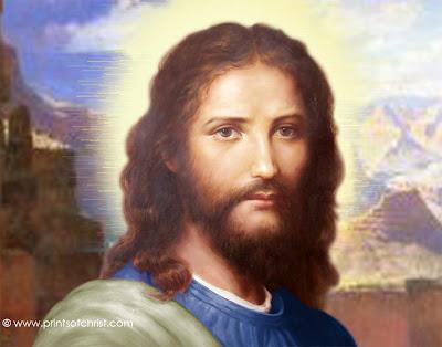 Jesus Face Painting