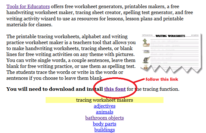 Zhe simple education tools lets make tracing worksheet 3 when you open the link youll be redirected in a new tab the page contain a download section as seen on the red circle that i made ibookread Download