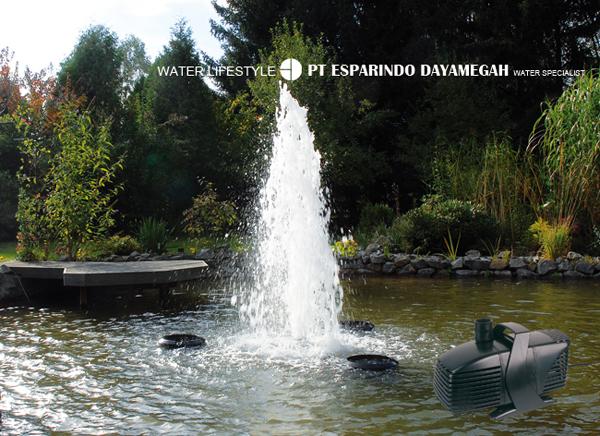 Nozzle Air Mancur, Pompa Celup, Dll Untuk Kolam Hias/Ikan Untuk Taman (Buatan Jerman)