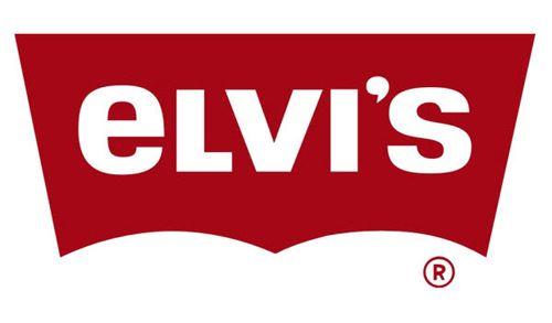 20 Logo Plesetan dari Perusahaan-Perusahaan Terkenal di Dunia: Levi's - Elvi's