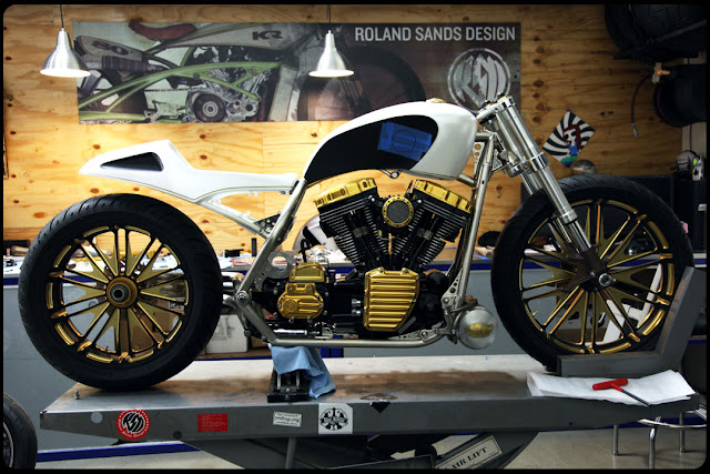 Modification Mickey Rourke Bike Concept