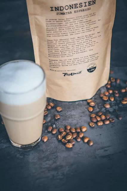 Espresso frisch geröstete Bohnen Tres Cabezas