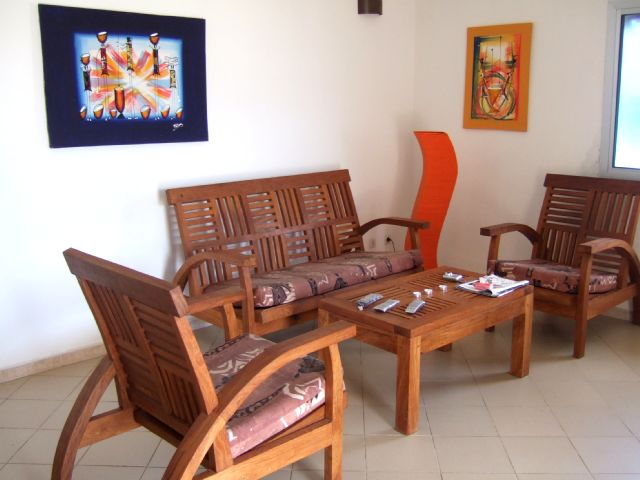 Yoff apecsy vue sur mer appartement meubl louer for Appartement meuble a louer dakar senegal