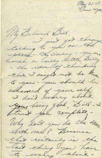 Cartas amor Elizabeth Taylor