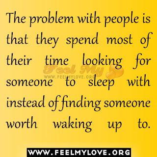 Someone worth waking up to