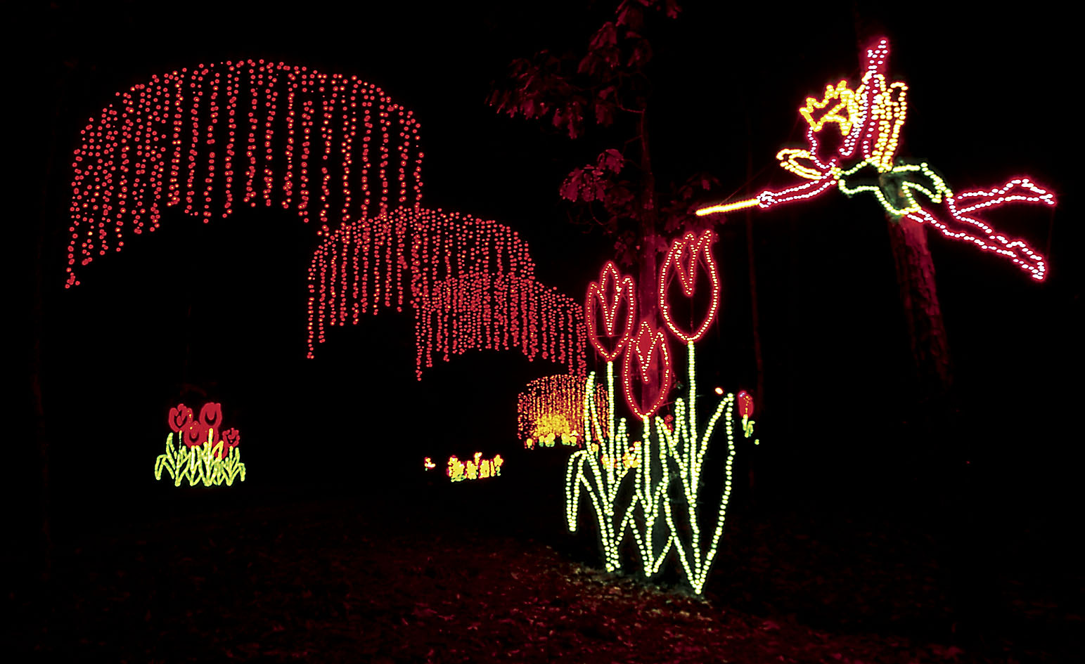 Georgia history historic sites points of interest - Callaway gardens festival of lights ...