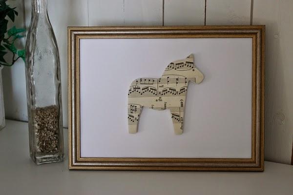 tavla dalahäst dalahorse dalahästtavla notpapper husetpabackavagen