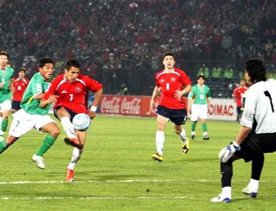 Chile contra Bolivia online