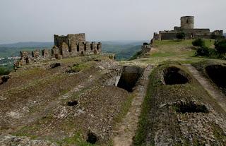 restos castillo de jimena de la frontera