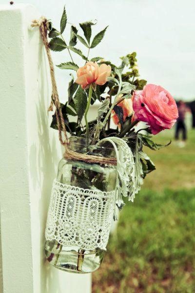 decoración floral vintage