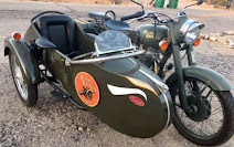 Ariz. 2005 with sidecar